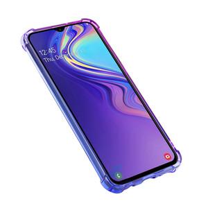 Samsung M20 ücretsiz nakliye için Renkli Sıcak satış Tüm Vücut Koruma mobil Telefon Kılıfı TPU arka kapak durumda Gradyan