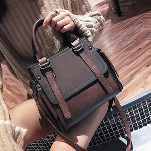 LEFTSIDE Vintage New Handbags For Women 2019 Female Brand Leather Handbag High Quality Small Bags Lady Shoulder Bags Casual