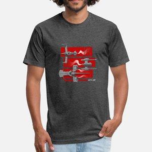 Cowboy Bebop passerelle navette t shirt homme t-shirt col rond de caractère de la famille Lumière du soleil de base d'été de style chemise naturelle