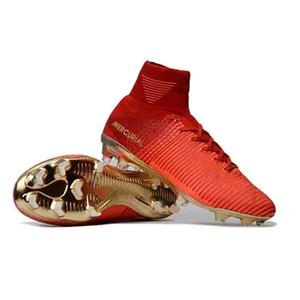 Erkek Mercurial Superfly CR7 Mercurial Şampiyonlar Futbol Cristiano Ronaldo Neymar JR Yüksek Bilek Çorap Futbol Profilli Futbol Boots 39-46 Ayakkabılar