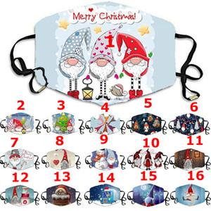 3-7 arriva negli Stati Uniti! Anti-polvere fiocco di neve maschera di Natale può essere lavato e filtro maschera riutilizzabile