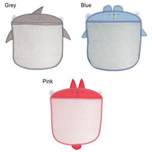 1pc Cartoon Wall Hanging Bag Kitchen Bathroom Storage Bags Knitted Net Mesh Bag Baby Bath Toys Shampoo Organizer Container