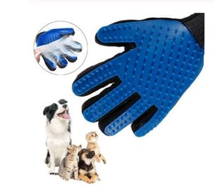 Cat Pet Grooming Deshedding Brush Gloves Effective Cleaning Back Massage Animal Bathing Fur Hair Removal Cat Dog Combs
