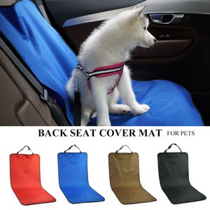 Car Waterproof Rear Seat Pet Rear Cover Protective Pad Cat and Dog Pet Trunk Travel Safety Accessories Car Rear Seat Cushion