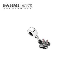 925 Sterling Silver 1: 1 Оригинал 791478NCK Аутентичные Темперамент моды гламурный ретро кулон ювелирные изделия венчания женщин