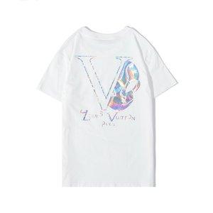 Fashion Designer T-shirt manches courtes en coton Polo homme méduse T-shirt Harajuku T-shirt décontracté