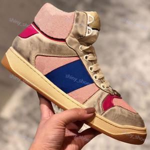 Gucci casual shoes Sneakers Klassische Do alte Italien Deluxe Marke Sequin Schmutzige Schuhe Designer Superstar Mann und Frauen hococal Freizeitschuhe