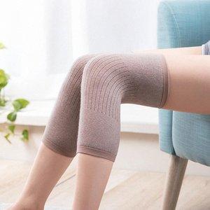 1 par de cachemira caliente de la rodillera de lana de rodilla apoyar a hombres y mujeres Ciclismo Alargar prevenir la artritis de la rodilla Pad butr #
