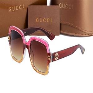 0086 Gùcci New Square Luxury Sunglasses Men Women Fashion UV400 Glasses Pretty Original Luxury Glass Trendy Sun Glasse