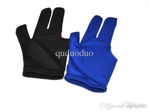 New BG2 10pcs Black and Blue Color Billiard gloves, Pool gloves, Snooker gloves for sale, Wholesale Fingers Gloves Black and blue