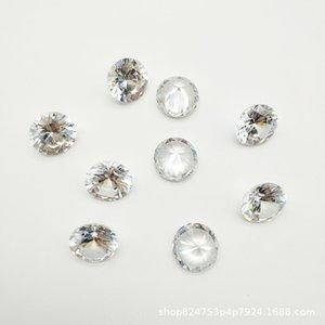 nOqLD Bellas desnuda blanca suelta de diamantes pequeña 3a Ronda zirconi piedra redondo blanco pequeño circón circón 3a desnuda piedra de circonio simulación arti hjvQQ