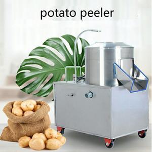 150-350kg / h Kartoffelschäler für Restaurant / kommerzielles Obst und Gemüse waschen und Schälmaschine, große Kapazität elektrischer Schäler 220V