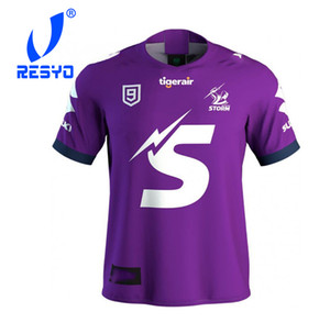 RESYO FOR 2020 Melbourne Storms NINES Jersey Rugby Jersey Sport Shirt S-5XL