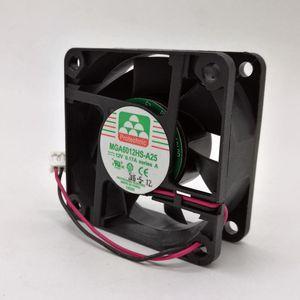SZYTF New 6CM 60mm MGA6012HS-A25 6025 12V 0.17A silent cooling fan 60*60*25mm