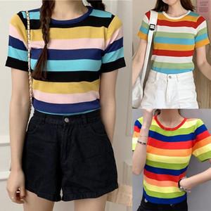 women print T shirt short sleeve O neck tees ladies casual tee shirt street wear top August 13rd