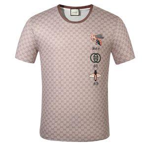 Mens Designer T-Shirt Luxurious europäische amerikanische populäre kleine rote Herzdrucken T-Shirt Männer Frauen Paare T-Shirt