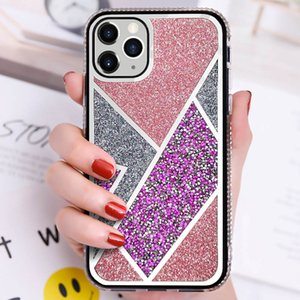 Fashion Women Luxury Diamond Case Glitter Cover for iPhone 12 11 Pro XS Max XR 7 8 Plus