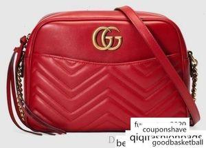 Marmont Médio Matelass Bag 443499 Shows moda feminina Shoulder Totes Bolsas Top Alças Corpo Cruz Messenger Bags