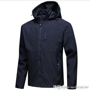2019 Nouveaux hommes de luxe de luxe vestes de luxe à manches longues coupe-vent Windrunner hommes zipper veste étanche visage visage nord hoodie manteaux vêtements
