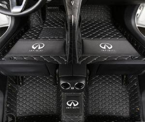 Adequado para tapete Infiniti G37 JX35 FX35 EX25 Q50 Q60 Q70L QX30 QX50 QX56 QX60 QX70 QX80-Car 2007-2021