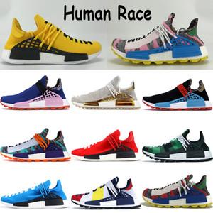 hu pharrell paquete solar madre rojo naranja NMD raza humana paquete de porcelana de zapatillas de oro amarillo infinitas especies blancas mujeres de los hombres zapatillas de deporte