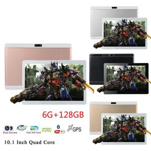 2020 New Sales 10.1 Inch Octa Core Android 9.0 Tablet Pc 6GB+128GB 8.0 MP Cameras 4G LTE Call Phone Tablet GPS Pad