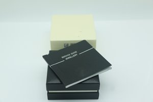 Top quality Black cufflinks pen Box with Service Guide Book Classic Style have a manual