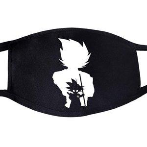 Coreano de Kawaii del animado Maschera Maschera Maschera Tejido Bocca Di Polvere del Cómic Viso Divertente Algodón anti Bella Riutilizzabile hUUvE