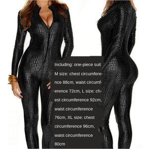 Yeni DS gece kulübü sahne kıyafeti tek parça kostüm Yeni çubuğu DS gece kulübü Bar giyim giyim aşamasına kıyafeti yaldızlı yılan derisi üzerine yılan derisi yaldızlı
