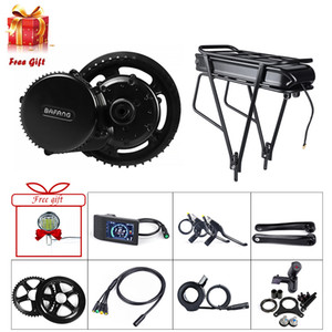 Europe Stock BAFANG BBS BBS01B 36V 350W Mid Drive Motor eBike Conversion Kit Electric Bike Middle Engine with 36V 20Ah Rear Rack Battery