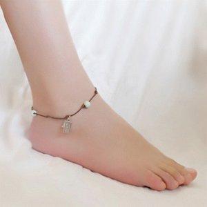 Fashion Group 6hUtr estilo simple hoja de calzado aleación de estudiantes para el tobillo Abacus novias accesorios de moda frescas ethni sencilla Grupo étnico