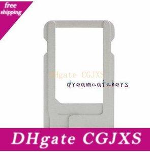 Para Iphone 5 Nano Sim Card Holder ranura de la bandeja de reemplazo ranura para tarjeta SIM adaptador para Iphone 7 para la reparación de piezas de Iphone 6 Plus