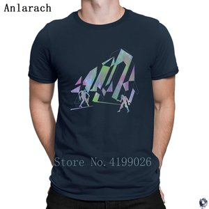 Psychedelic Zombies T Shirts Breathable summer High quality Natural tshirt for men Design Clothes hip hop Anlarach