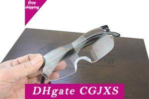 1 0,6 Volte Big Vision Magnifier occhiali da lettura Uomo Donna Vintage Eyewear Magnifier 250 Ingrandisce Vision Lens