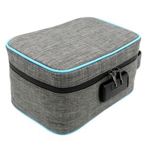 Viagem de armazenamento à prova de cheiros Bag With Lock senha Carvão Ativado Waterproof