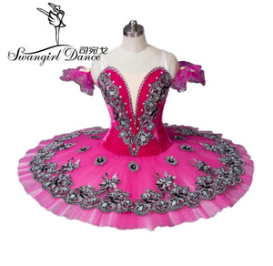 Free Shipping!Rose Red adult Ballet Tutu,Adult Ballet Stage Costumes,classical tutu,professional tutu BT8973
