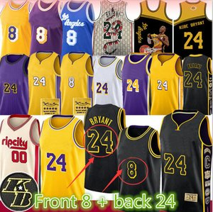 NCAA 00 Carmelo Anthony 8 24 33 Basketball Jersey Blazer crianças LeBron James 23 BRYANT Jersey Mens Juventude KB Los Angeles