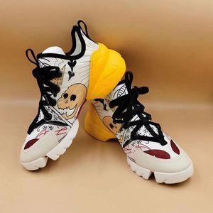 Cheap Luxury Designer Men Casual Shoes Cheap Best High Quality Mens Womens Fashion Sneakers Party Platform Shoes Velvet Chaussures ac47