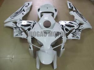 Injection Fairings kit + Geschenke für HONDA CBR600RR F5 2003 2004 2005 2006 CBR600RR F5 03 04 05 06 Körperabdeckung + Windschutzscheibe #white # S7HE2