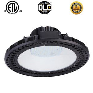 High Power 120W 150W 200W UFO High Bay Light Industrial Factory Warehouse Workshop Exhibition Hall Lamp Meanwell Driver NICHIA Chips 90-277V