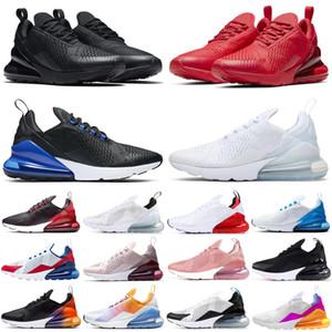 2020 270 мужчины женщины кроссовки тройной черный белый радуга Bred Photo Blue University Red мужские дышащие кроссовки спортивные уличные кроссовки