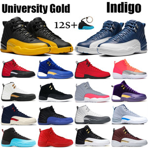 12 12s Chaussures de basket-ball pour hommes 2019 New Michigan Wntr Gym Rouge NYC OVO Laine XII Designer Chaussures Sport Baskets Baskets Taille 40-47