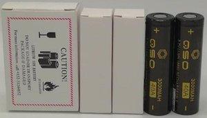 150pcs Batterie IMR 18650 3000mAh 3200mAh 3300mAh 3500mAh 40A stampare MAX50A Viola Rosso Verde 50A 2600mAh ricaricabile Vape Ecigs
