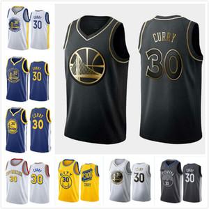 MenGoldenStateWarriors # Stephen Curry # 30 # # camisetas de baloncesto para los jugadores clave, el hombre swing de cosido y bordado camisetas de baloncesto.