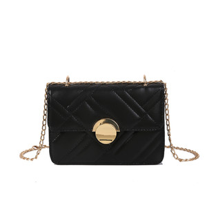 Spalla Phone Bag 2020 New Tide catena della spalla Slung Selvaggio Semplice Piccola borsa della ragazza Piccola Piazza mobile