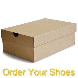 Pratique payment.Link à la navigation de paie ou d'augmenter les frais d'expédition pour chaussures boxes.Message note numéro de commande après paiement, Ne pas acheter 1
