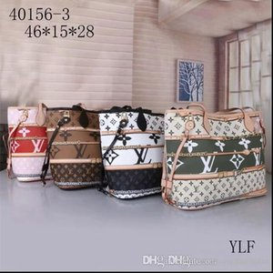 Donne Borsa a tracolla con una frizione Wallet 40996 cuoio genuino Colori Shopping Tote interno pieno 40995 buon prezzo - wwq