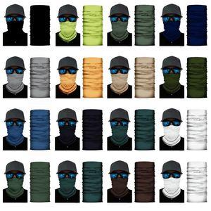 hot 15 stili Solid sciarpa magica Bandane Sport Headwarp Outdoor ciclismo maschere Wrap fascia antipolvere maschere riutilizzabili Designer T2I51383