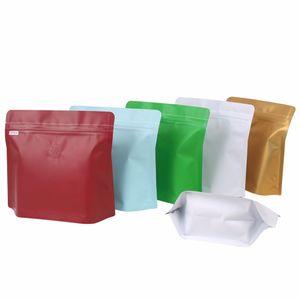 Die Hälfte Pound Coffee Bean Bag mit Luftventil-Diamant-Aluminiumfolie Self Sealing Kaffee-Tasche Großhandel