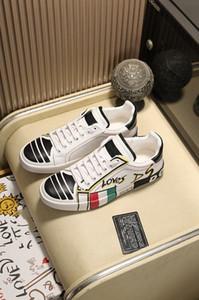 Dolce & Gabbana DG shoes 2020 Nouveau Design Chaussures Femmes Повседневный Chaussures En Cuir крючком Букле Леже Respirant Режим Chaussures Sneaker
